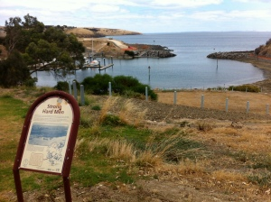 Christmas Cove at Penneshaw.