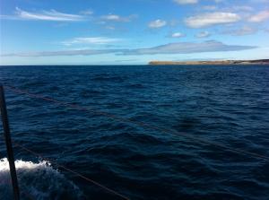 Cape Willoughby, last land until Victoria.