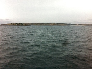 Passing Waterhouse Island