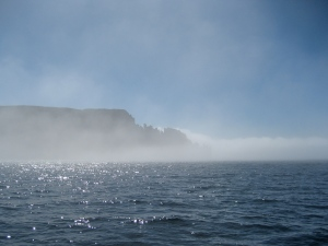 Foggy Cape Raoul