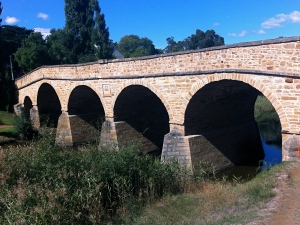 1823 Stone Bridge, oldest still being used in Australasia.