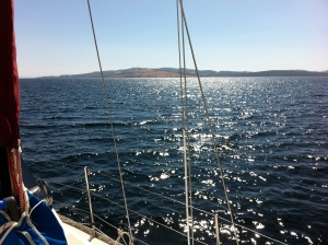 Bruny Island in the D'Entrecasteaux channel