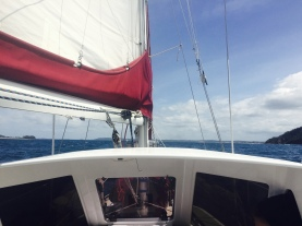 Coming into Port Stephens